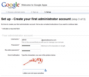 google apps setup step3