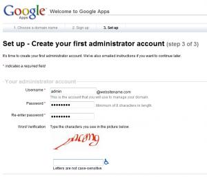 google apps setup step3