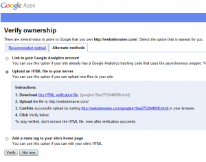 google apps setup step4