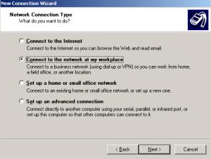 vpn connection setup step1