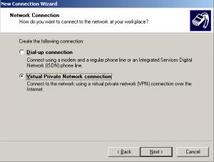 vpn connection setup step2