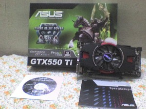 Asus Geforce GTX 550Ti 1GB