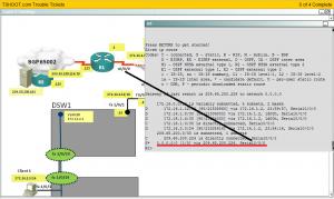 R1 default route interface