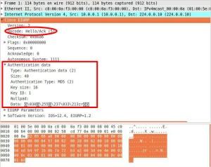 eigrp md5 authentication