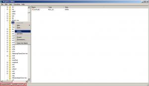 delete HKCR lnk extension
