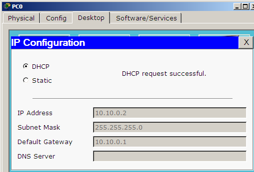 pc dhcp ip addressing